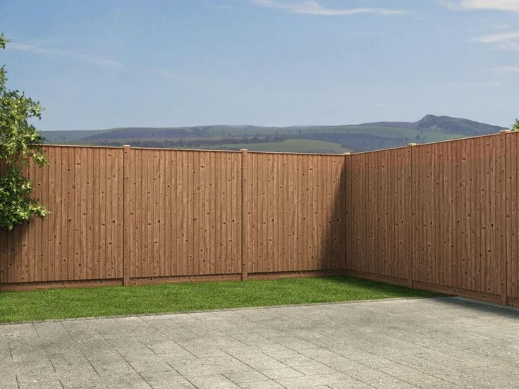 Installing your fence is as easy as ABC thanks to our 12.5mm tongue and groove cladding allowing the panels to simply slot together. This interlocking design ensures that you are left with a strong, sturdy fence that won't break if a stray football hits it. Due to the deep tongue and groove and thick 8mm timber panels, this is an airtight fence with no holes for your neighbours to peek through.