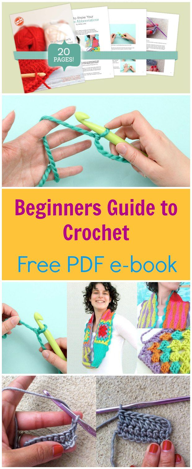 Free Pdf Ebook To Download Crochet For Beginners Packed With Crochet Tips
