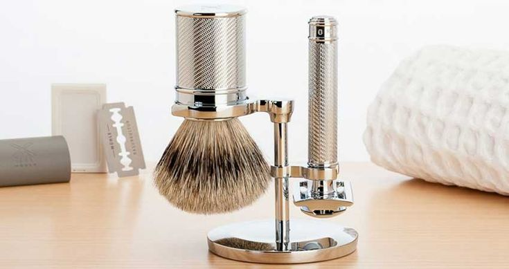 giv det eksklusive Mühle barbersæt i gave til manden der har alt