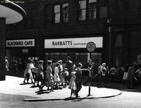 Black Bird Cafe on Tib Street Manchester 1959