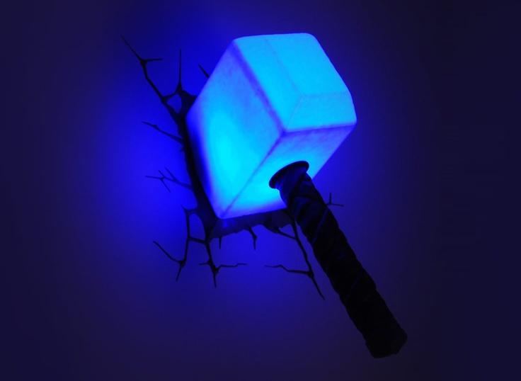 23 best thor images on pinterest thors hammer 3d wall art and avengers 3d deco lights thor hammer http3dlightfx aloadofball Gallery
