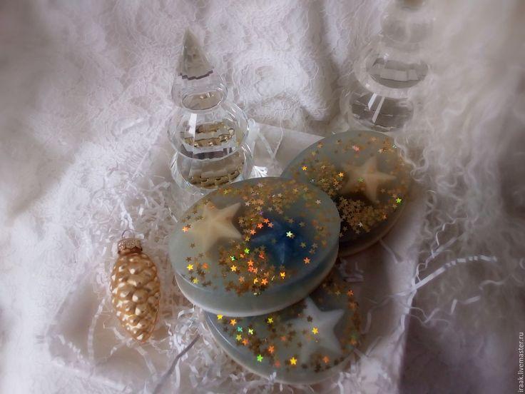 Купить Мыло «Лавандовое» - бледно-сиреневый, мыло, новогоднее мыло, подарок, туалетное мыло