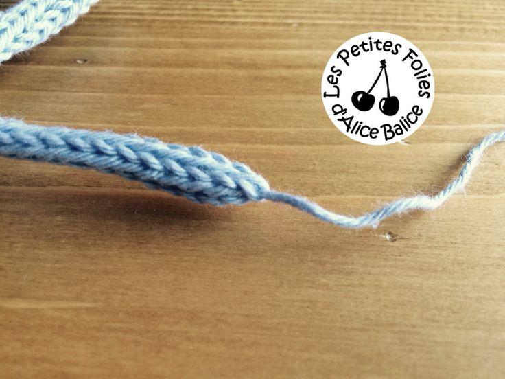 Tutoriel : faire un mot en tricotin