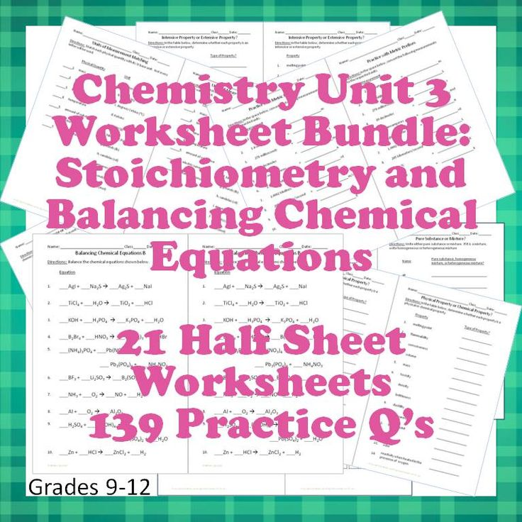 Worksheet 10th Grade Chemistry Worksheets 1000 images about phy sci on pinterest periodic table atoms chemistry worksheets 3 for interactive notebooks stoichiometry