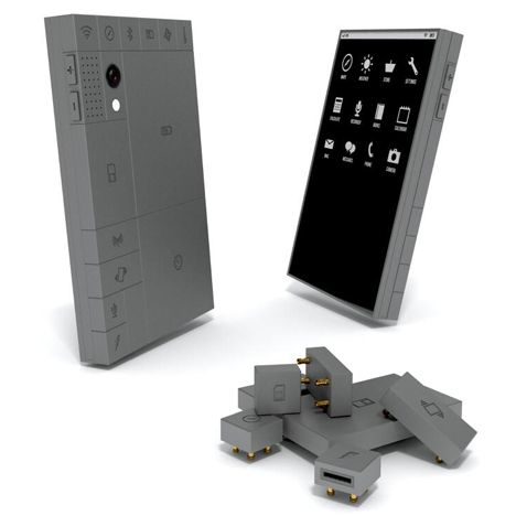 Phonebloks mobile phone concept by Dave Hakkens  http://www.dezeen.com/2013/10/19/phonebloks-mobile-phone-concept-by-dave-hakkens/