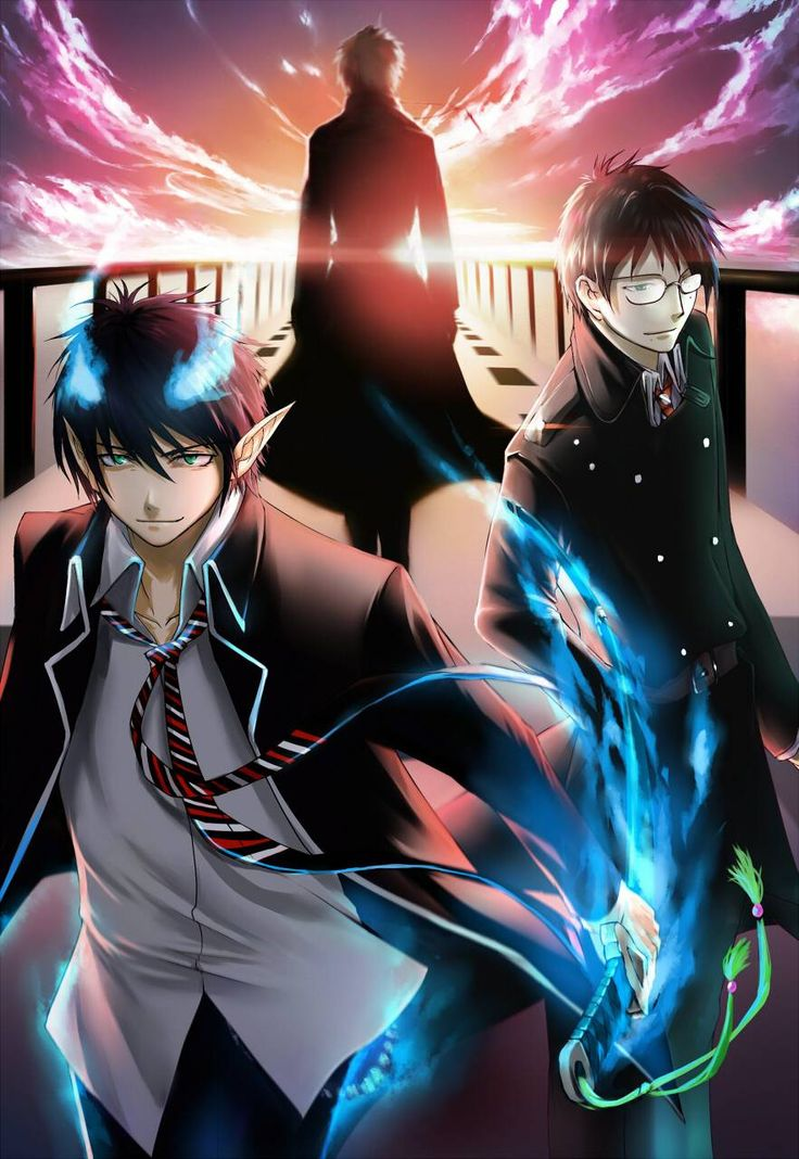 Blue Exorcist- behind every great person, is a hard working guardian, like in this show, that worked so hard to make you a great person and would be proud to see you now