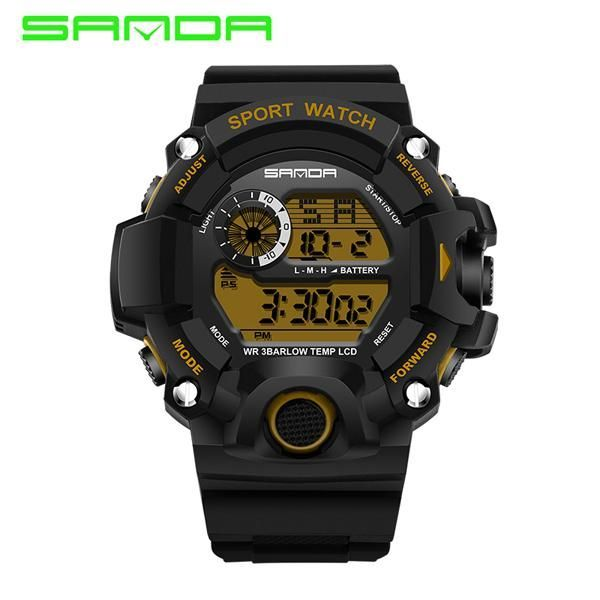 2017 SANDA Fashion Military Watch Men Waterproof Mens Watches Top Brand Luxury Sports Watches relojes hombre relogio masculino
