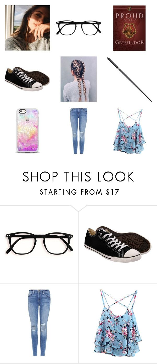 """""""Tilly Aesthetic"""" by pip-bella ❤ liked on Polyvore featuring Converse, Frame and thelatearrival"""
