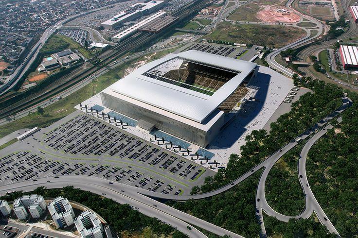 Estadio Arena Corinthians, São Paulo - http://riodejaneirobrasil.net/estadio-arena-corinthians-sao-paulo/ #RioDeJaneiro #Brasil #Turismo