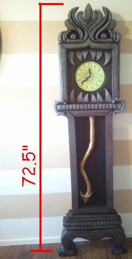 DIY Nightmare Before Christmas Halloween Props: Disneyland's Haunted Mansion 13 Hour Clock Build Tutorial