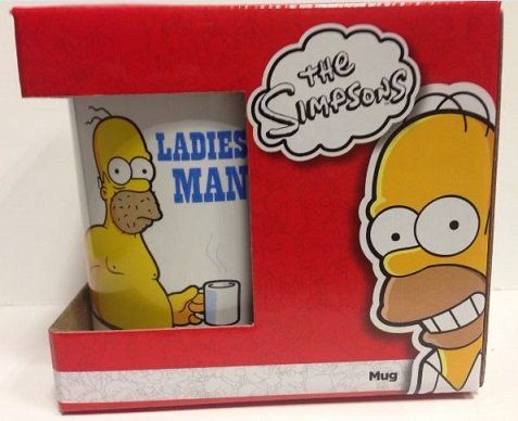 The Simpsons Ladies Man Mug @ niftywarehouse.com #NiftyWarehouse #TV #Shows #TheSimpsons #Simpsons