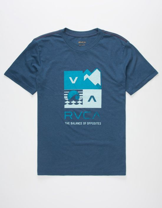RVCA Surf Check Boys T-Shirt