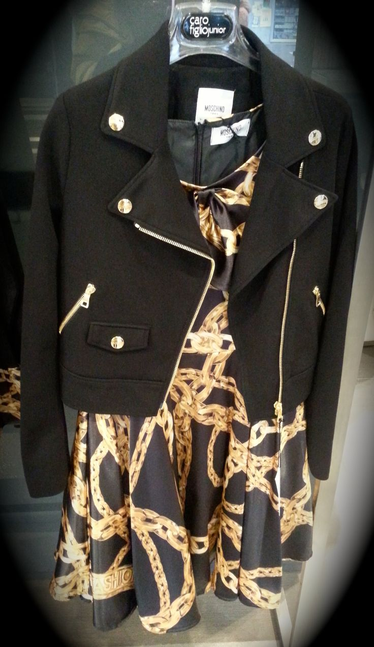 Good as gold By Moschino!
