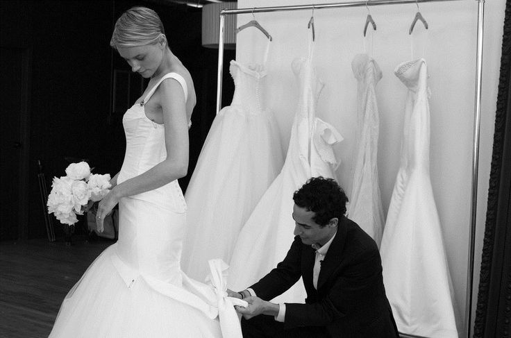 Check out Zac Posen's affordable wedding gowns for brides of all sizes