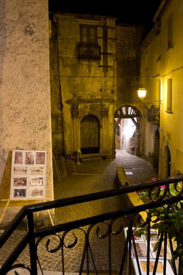 Rivello (PZ) Italy Street silently