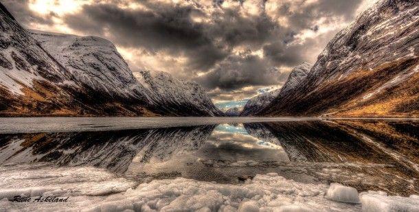 Reflection - Norway  #landscape #reflection #norway