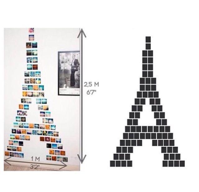 DIY Paris theme room decoration