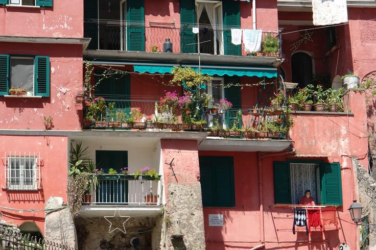 Colorful houses at the Amalfi coast, Italy
