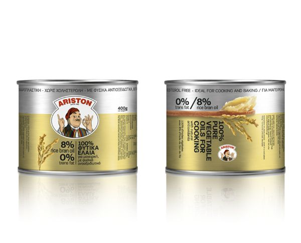 Ariston cooking oils | by Dimitris Florakis | Mousegraphics | on Behance