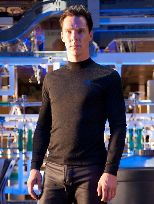 Benedict Cumberbatch as Khan Noonien Singh in Star Trek Into Darkness