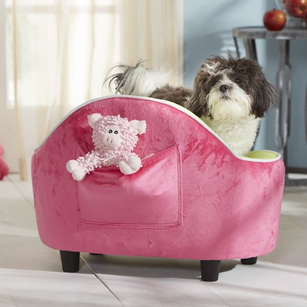 Cute Very Small Dog Bed With Handy Little Pocket