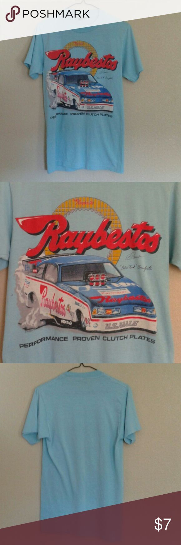 Vintage Raybestos Nascar T-shirt Small Mens Excellent overall condition!  Super soft. nascar Shirts Tees - Short Sleeve