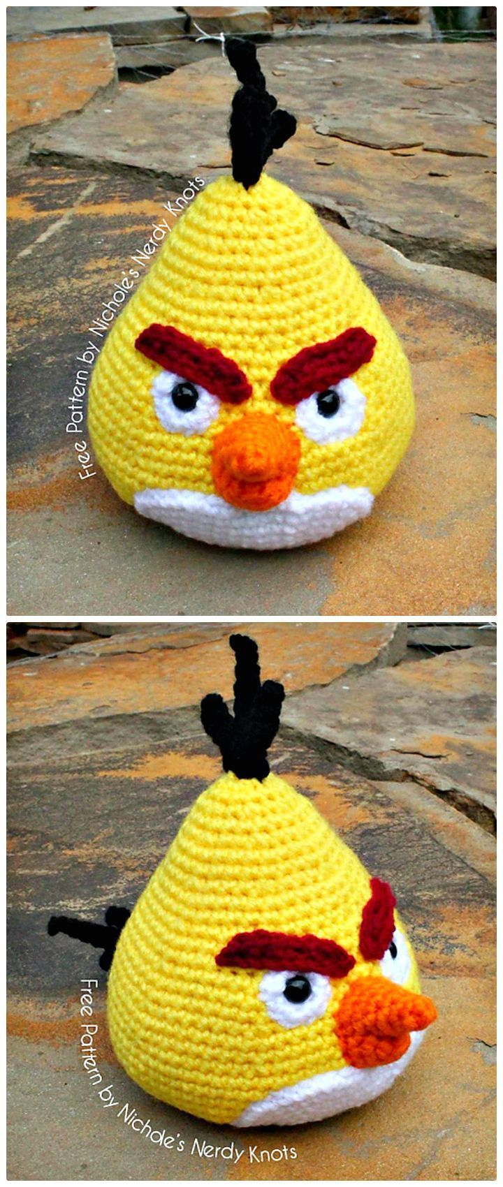 Ravelry: Angry Birds - Cardinal pattern by Adorable Amigurumi | 1700x720