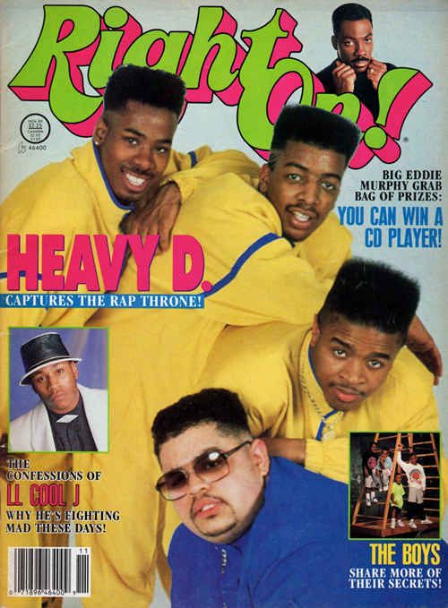 Right On! , November 1989 | 12 Magazine Covers That Perfectly Sum-Up Hip-Hop's Golden Era
