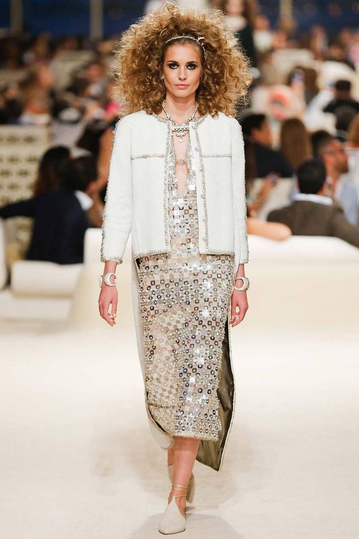 Chanel Resort 2015 Fashion Show - Nadja Bender