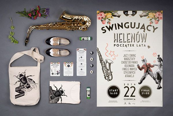 Swingujący Helenów on Behance