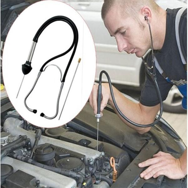 Auto Diagnostic Car Engine Block Stethoscope Automotive Tools Auto Repair tools Diagnostic tool Engine Analyzer Car Accessories *** Click the image to view the details