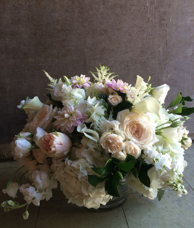 Romantic flowers at cold spring country club