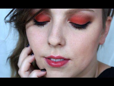 Matné Oranžové Podzimní Oči Makeup Tutorial - YouTube