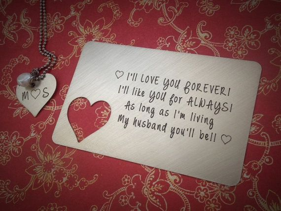 17 best images about wallet card inserts on pinterest Unique christmas gifts for couples who have everything