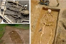 Skeletons of Giants found.