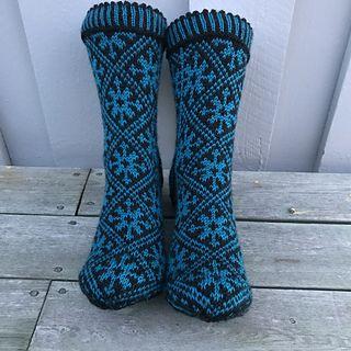 liwes' Snowflake socks