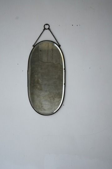 鏡 antique mirror made in Japan