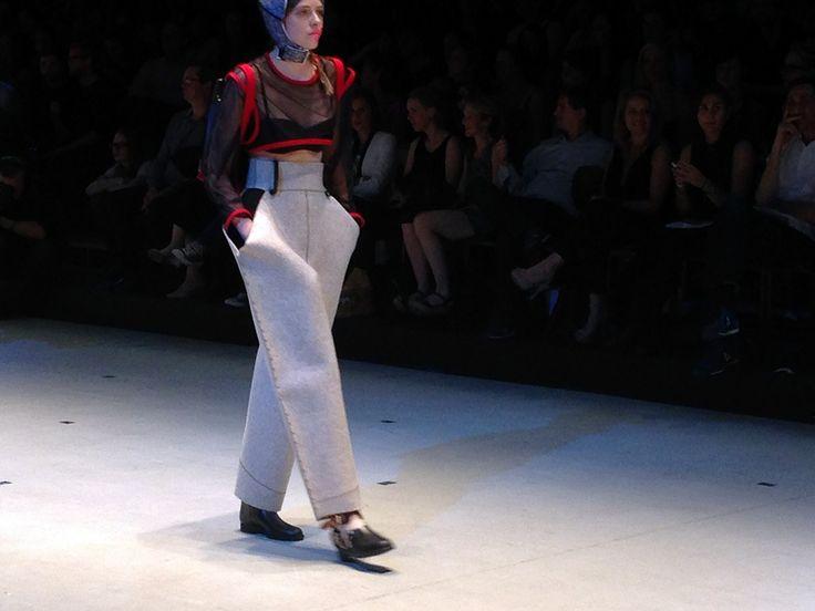 La Cambre final show 2014 & young Belgian designers