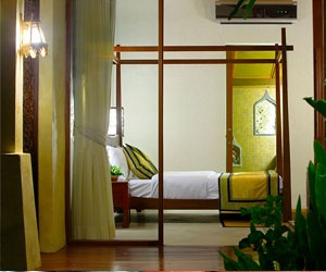 The standard room at Prana Resorts & Spa, Koh Samui, Thailand