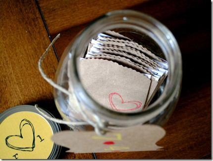 A date idea jar!