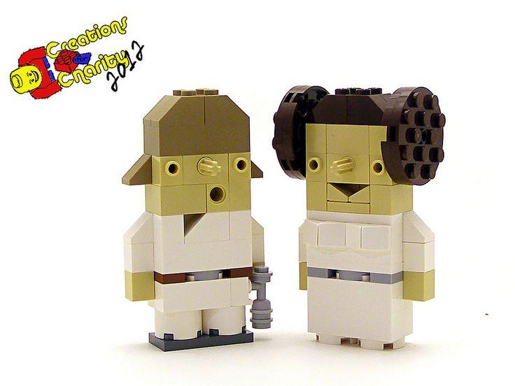8 Stunning Micro LEGO Star Wars Characters