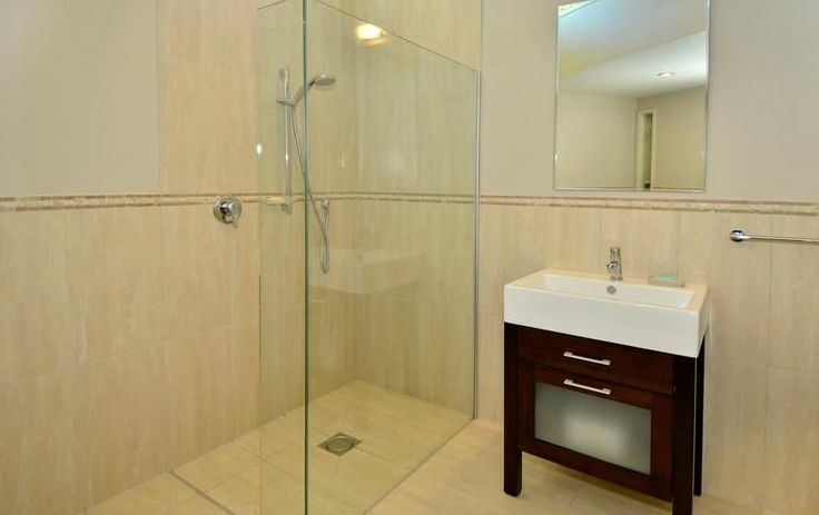 Atangi on Palm - Main Bathroom #Waikehe #Accommodation #New Zealand