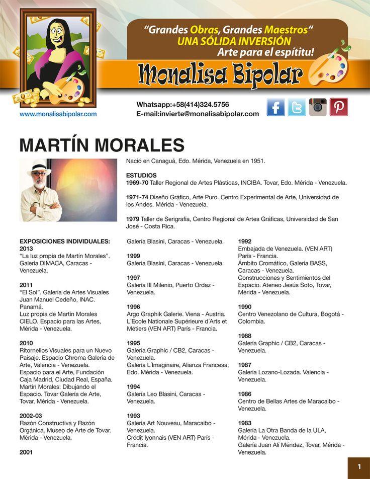 13 best MAESTROS / ARTISTAS para Monalisa Bipolar images on ...