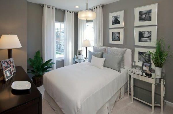 vorhänge modern schlafzimmer | möbelideen, Badezimmer