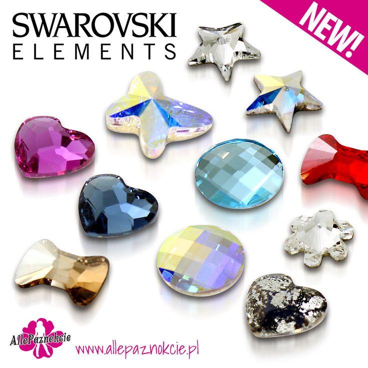 Polecamy nowe ozdoby Svarowski'ego. Dzięki tym błyskotkom każda stylizacja nabierze dodatkowego wyrazu i klasy. Można je jednak stosować wszędzie, nie tylko na paznokciach. Jedyne ograniczenie to Twoja wyobraźnia.