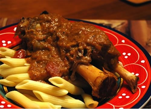 Pork Osso Buco Recipe this is the one I'm using! Overall good recipe and nice story/ information.  From the reluctant gourmet blog.