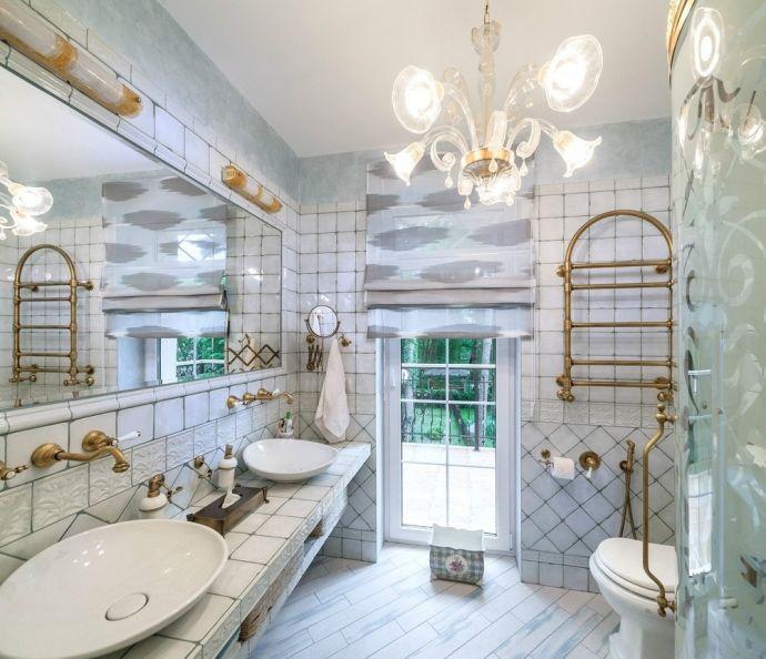 Интерьер дома площадью 150 кв.м. с элементами Прованса - Дизайн интерьеров…