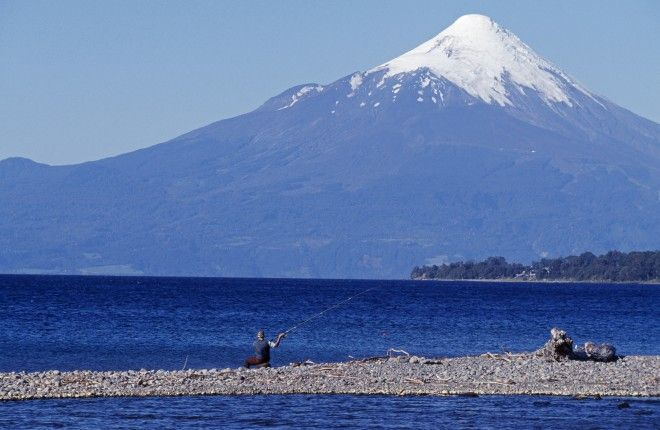 Lake District, Chile: Pucón is the Lake District's activity centre for hiking, biking, rafting, horse-riding and the challenge of the all-day volcano climb. More technical climbs await on the volacnoes in Puerto Varas, further south – a supremely picturesque spot on the shores of Lago Llanquíhue. The Río Petrohué attracts rafters and kayakers, and the Lake District's flat, deserted roads, snaking around a profusion of crystalline lakes and waterfalls, is a paradise for cyclists.