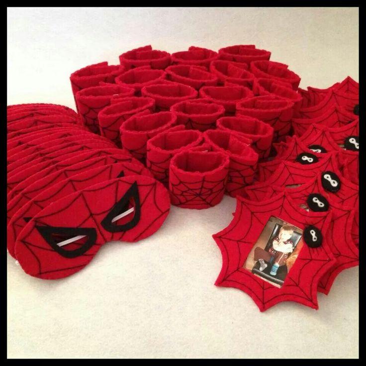 Spiderman birthday, handmade, diy @birceakay