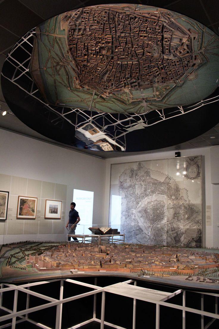 Wien von oben. Die Stadt auf einen Blick. 23. März 2017 bis 17. September 2017 Wien Museum  © tnE Architects